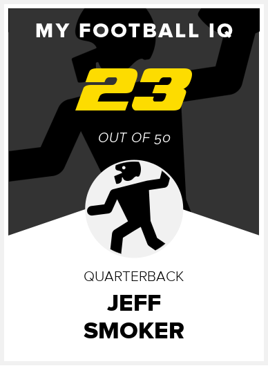 Jeff Smoker Wonderlic Score