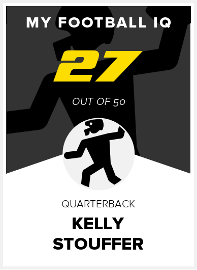 Kelly Stouffer Wonderlic Score