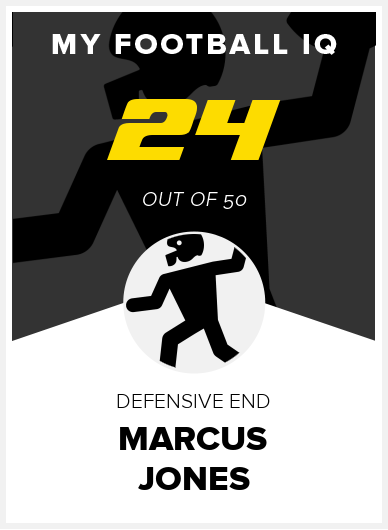Marcus Jones Wonderlic Score